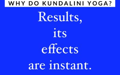 The Kundalini yoga effect