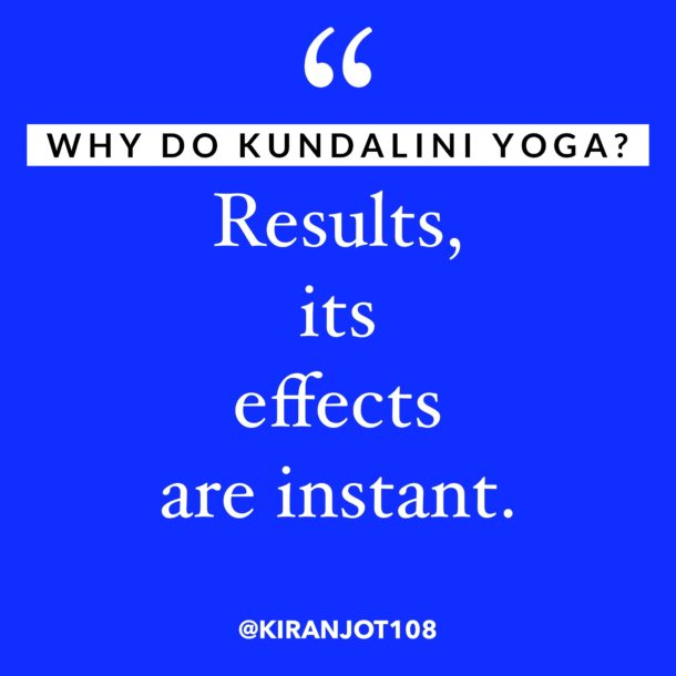 The Kundalini yoga effect