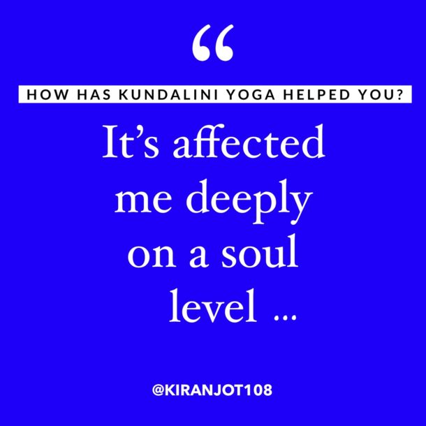Kundalini yoga is a spiritual practice